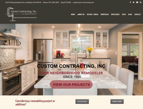 Custom Contracting, Inc.