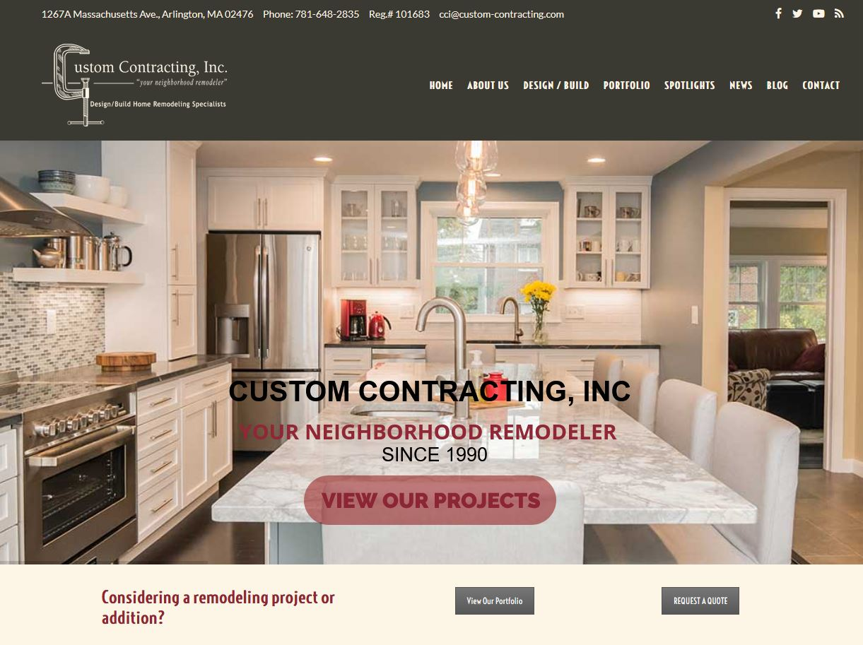 Custom Contracting, Inc